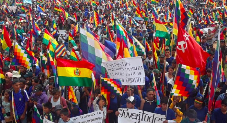 Solidarietà con il popolo boliviano dal Ticino, noi ci siamo!
