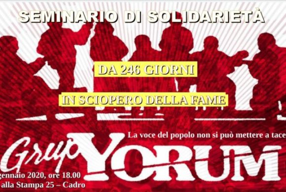 Solidarietà con il Grup Yorum
