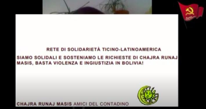 Dialogando di lotta di classe: crisi in Bolivia