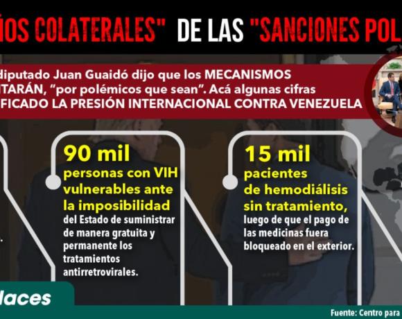 Campagna Europea per la sospensione delle Sanzioni al Venezuela