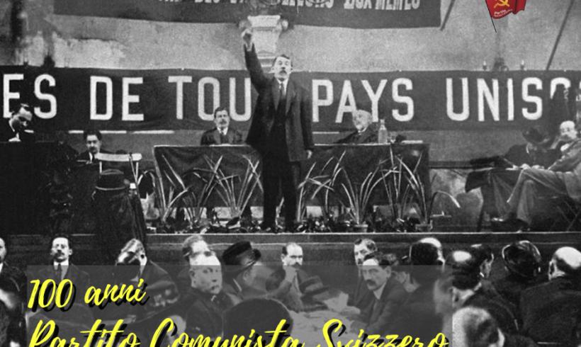 100 anni dalla fondazione del Partito comunista svizzero